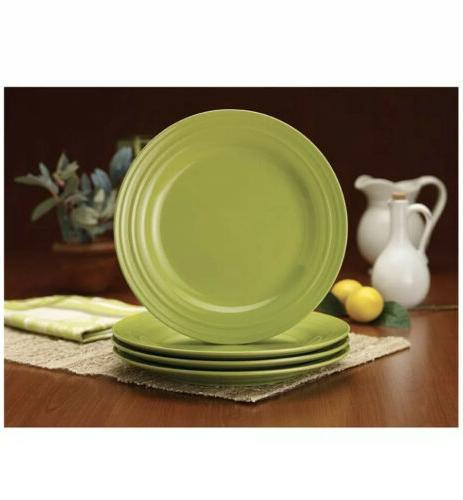 4 Piece Ray Dinner Ridge Dinnerware