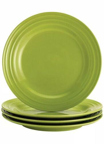 4 piece set dinner plates double ridge