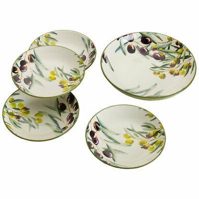 Olive Mikasa 5225080 Pasta Bowl Set