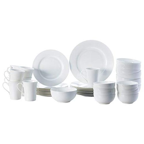 Mikasa 5225580 Delray Dinnerware Set, Service for 8