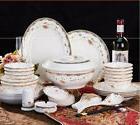 56pcs Chingtechen Dinnerware Set Kitchen Porcelain Dining Pl