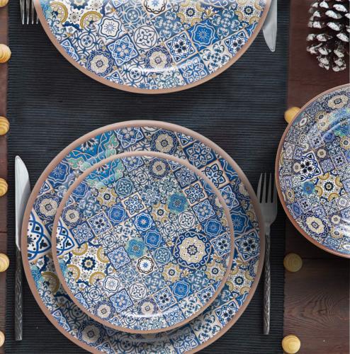 Melange Salad Set Tiles Shatter-Proof and