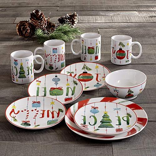 American Atelier Holiday Set, Green/Red