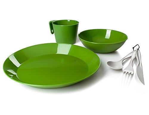 GSI Outdoors 77313 Cascadian Single Table Set - Green