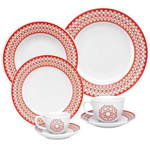 7891361984626 flamingo dinnerware set