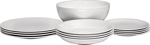 "Alessi""All-Time"" Table Set Composed of Four Dining/Side Plat"