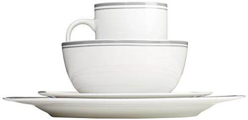 AmazonBasics Dinnerware 4 - Grey
