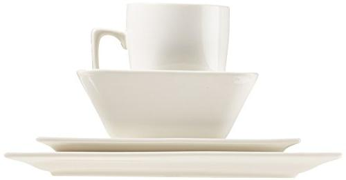 AmazonBasics Classic Dinnerware Service for 4
