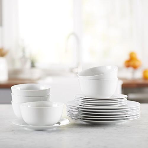 AmazonBasics Dinnerware Service