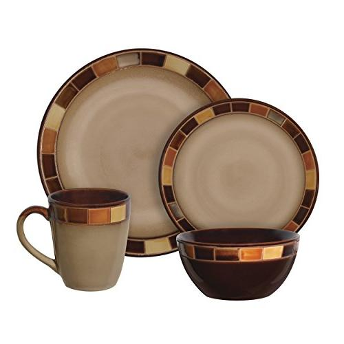 Gibson Estebana Dinnerware 4, Beige