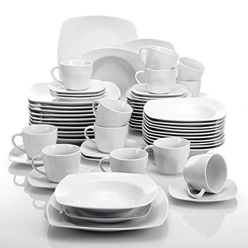 Piece Ivory White Porcelain