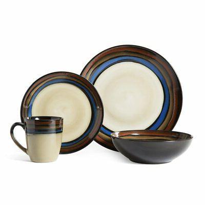 Pfaltzgraff 5136399 Galaxy dinnerware Set, Assorted
