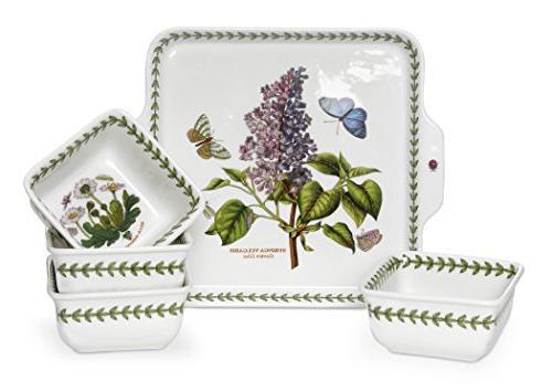 Portmeirion Botanic Garden 5-Piece Accent Bowl Set