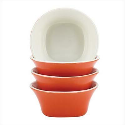 Rachael Ray Dinnerware Round & Square 4-Piece Stoneware Frui