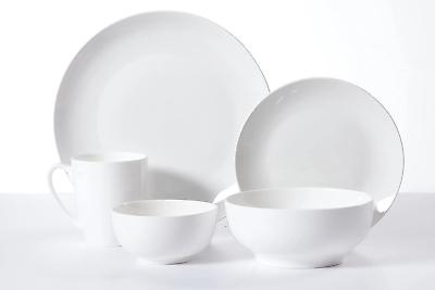@ Gibson 30-Piece Dinnerware Set White