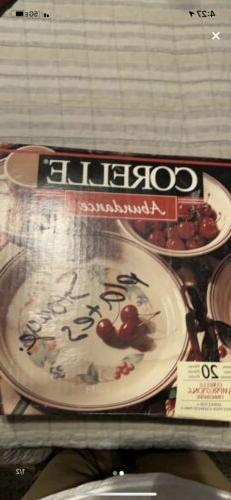 abundance 20 piece dinnerware set