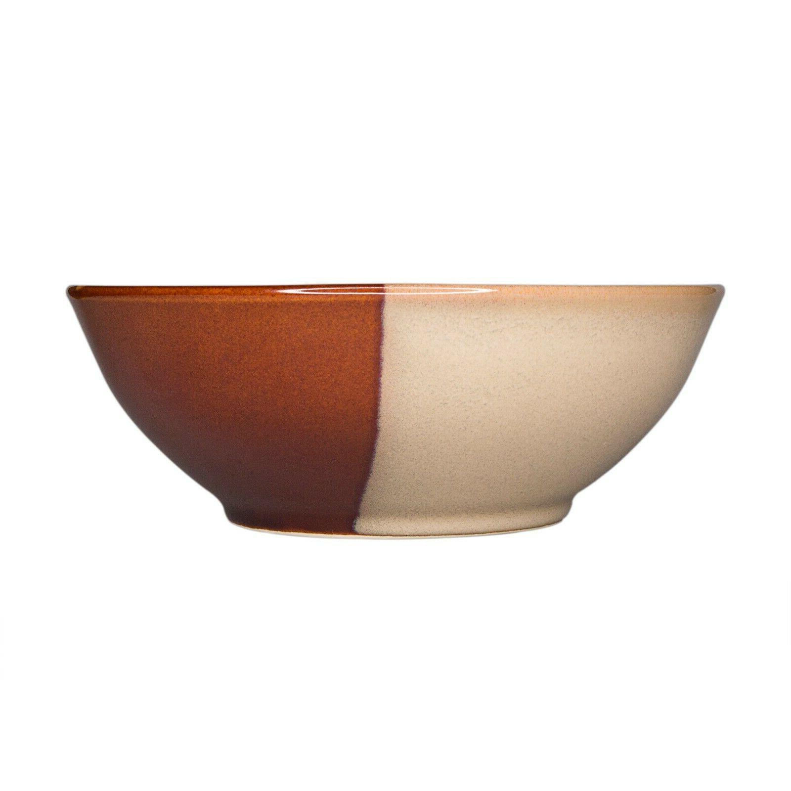 Sango Brown 16 Piece Reactive Glaze Dinnerware