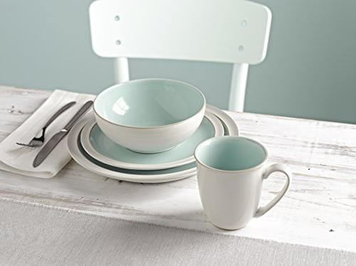 Denby 4-Pc. Azure Dinnerware Set