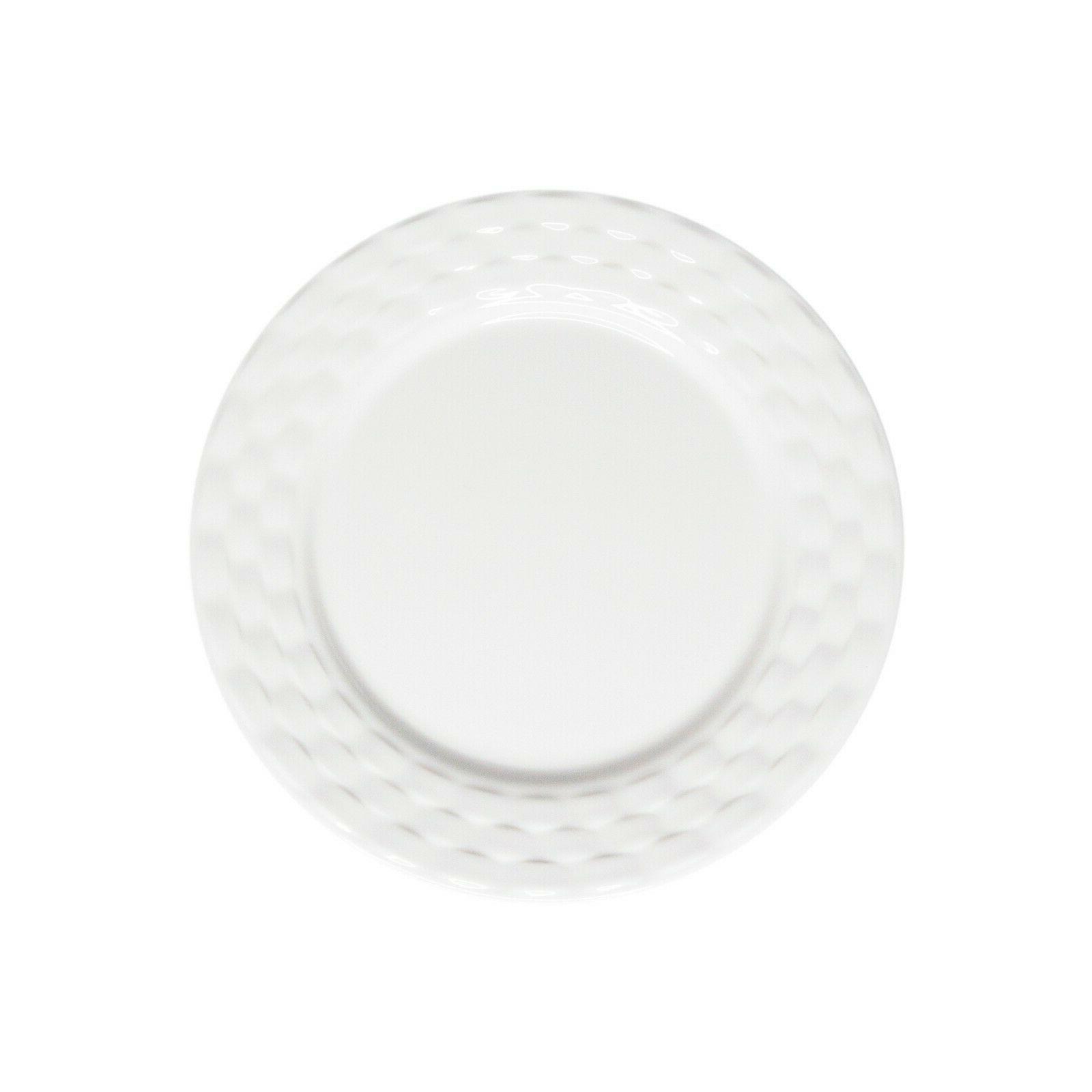 222 White 12 Dinnerware Set