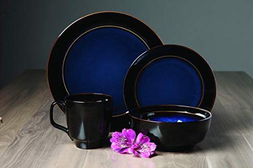 Galleria Glaze Dinnerware Blue