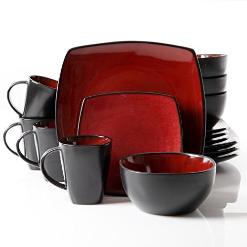 Gibson Elite 98771.16RM Soho 16-Piece Glaze Set,