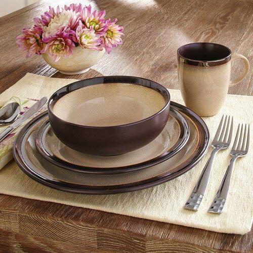 better homes gardens beautiful16 piece sierra dinnerware