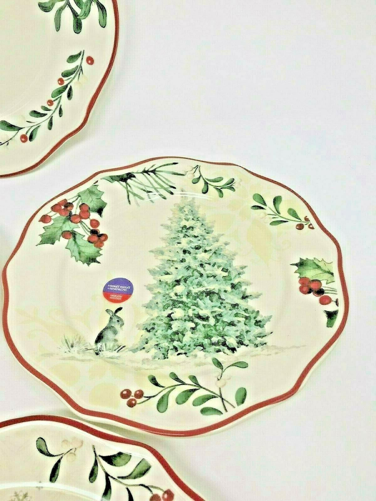 BETTER HOMES HERITAGE 12 PIECE HOLIDAY DINNERWARE SET