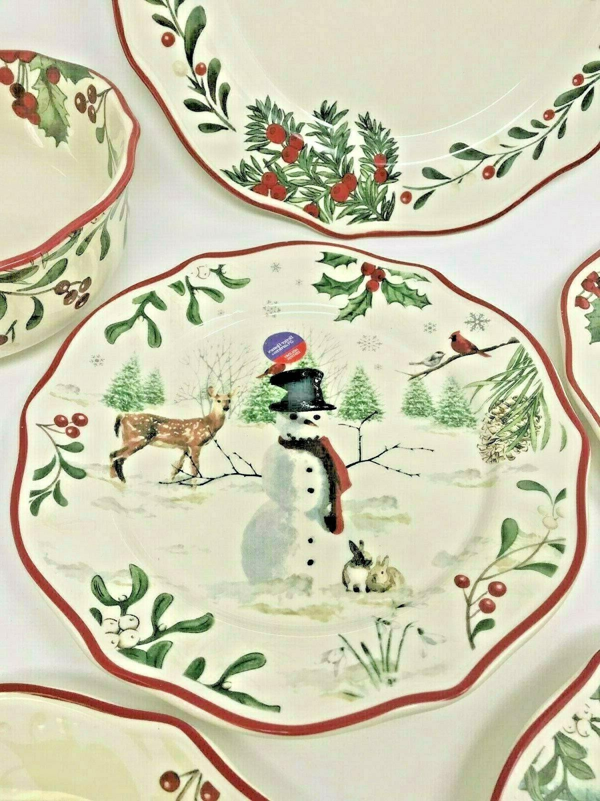 BETTER HOMES GARDENS HERITAGE 12 PIECE HOLIDAY