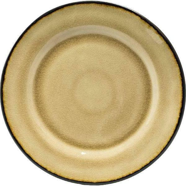 Better Homes Bramley Dinnerware, Dijon Gold Glaze, Set