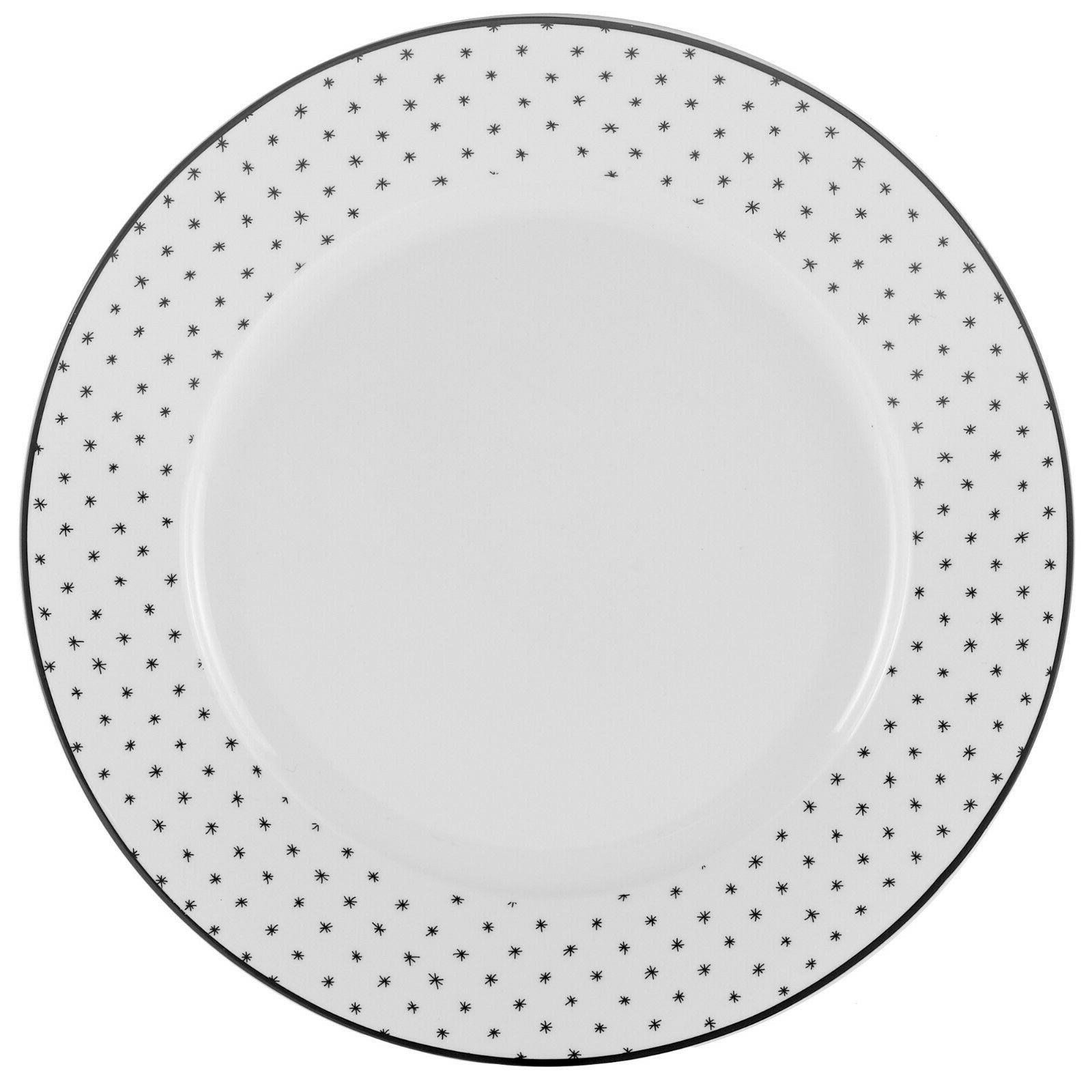 Black Sketch Dining Dinnerware set