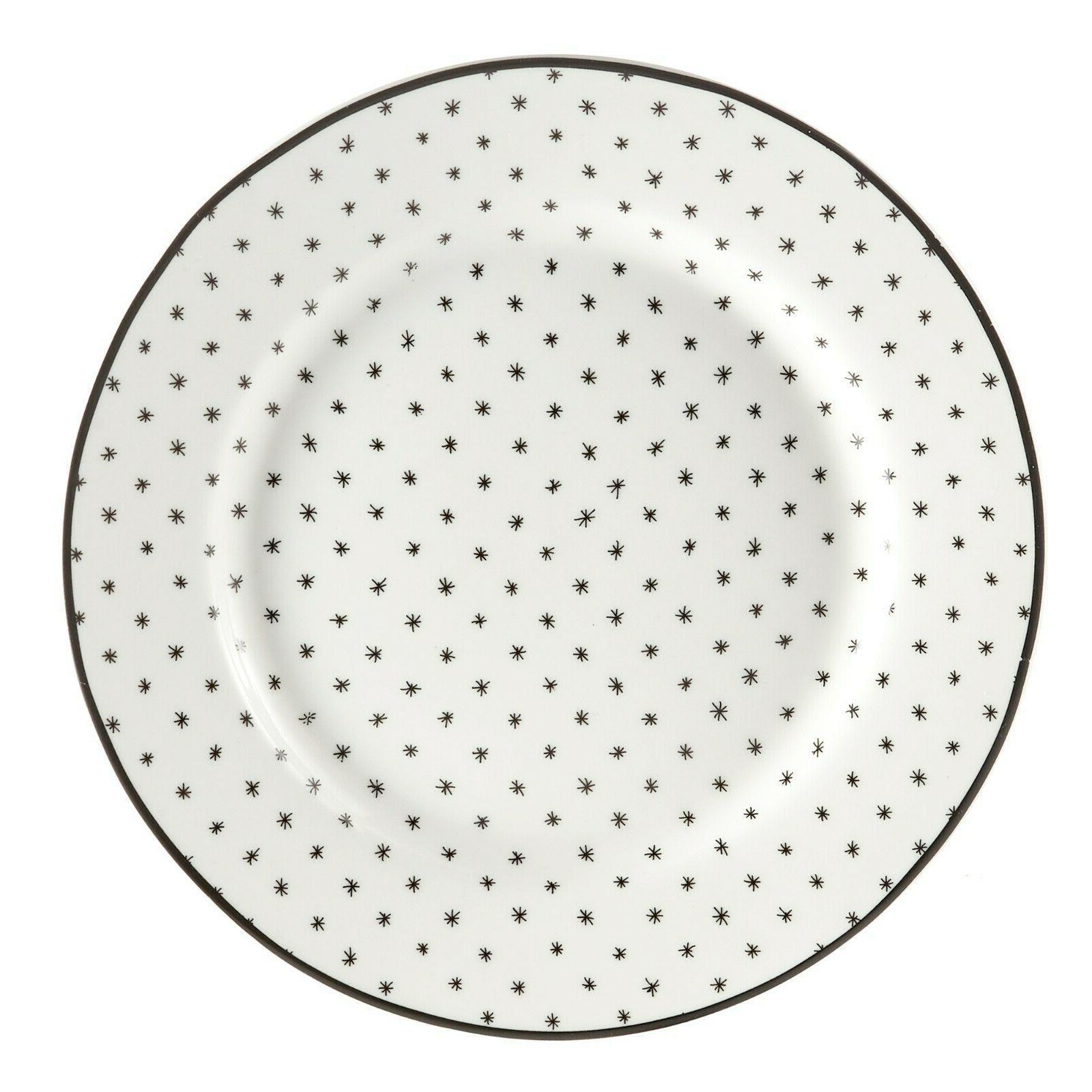 Black White Sketch Dinnerware set