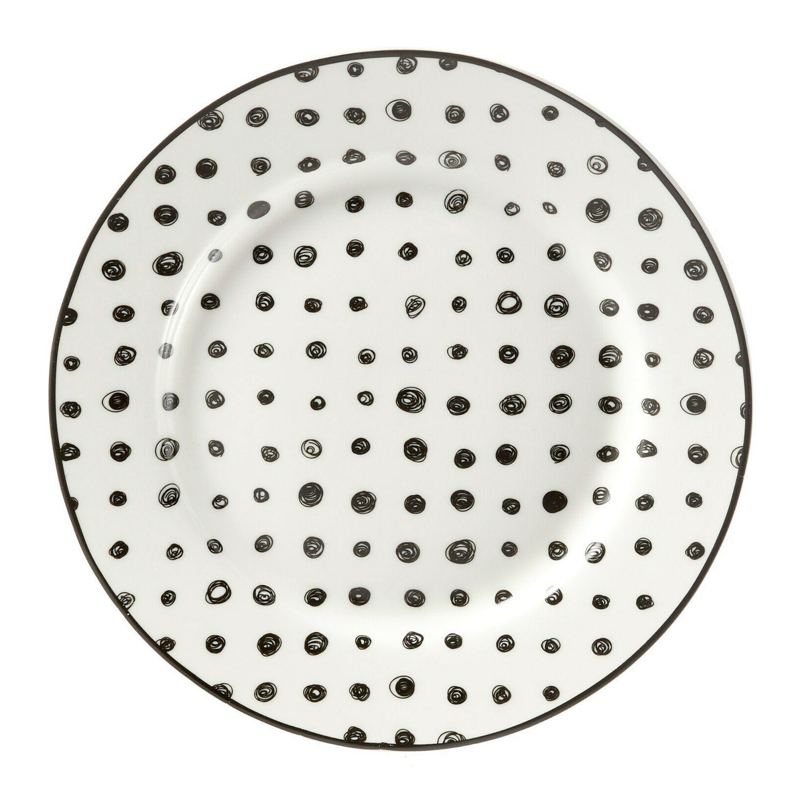 Black White Dinnerware set