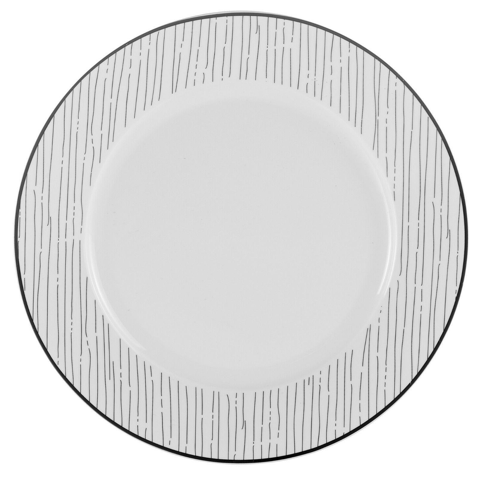 Black White Dining Dinnerware for