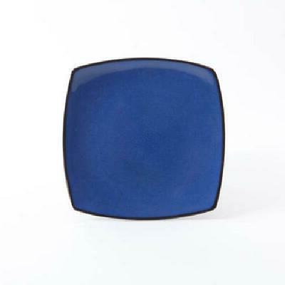 Blue Dinner Plates Bowls Home 16 Pcs