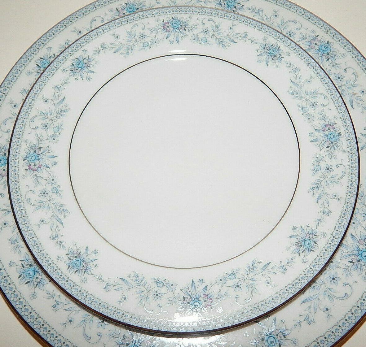 Noritake Blue Fine China 5 Piece Setting 2482