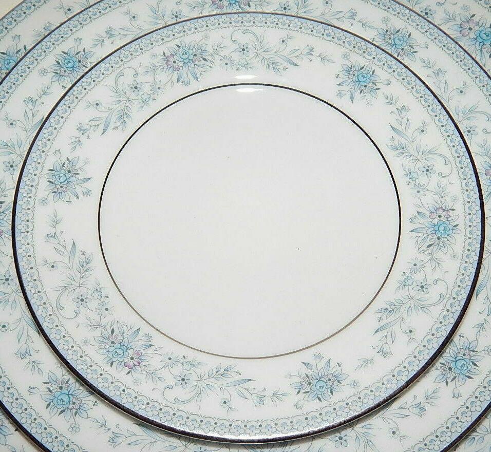 Noritake Blue Fine China Dinnerware Piece Place Setting 2482