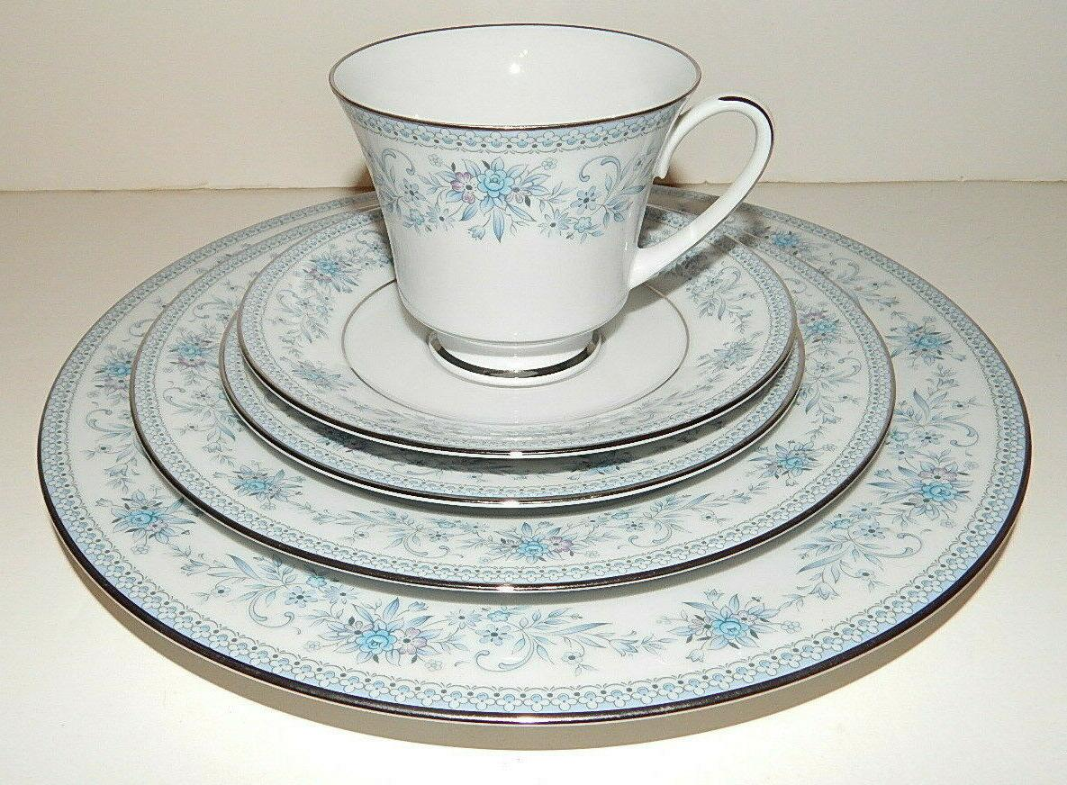 blue hill contemporary fine china dinnerware 5