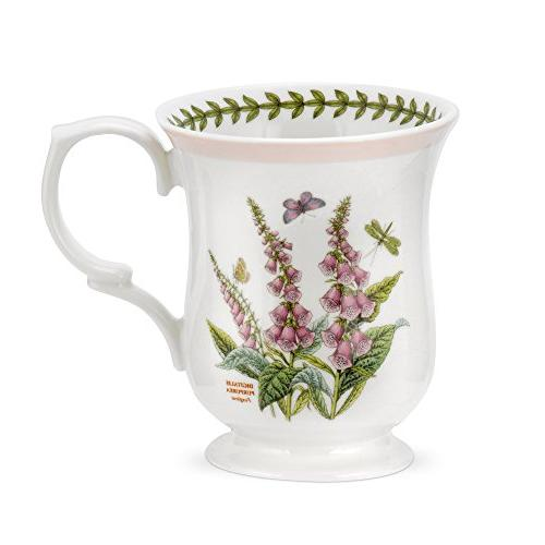 Portmeirion Botanic Garden Terrace Bell Shape Mugs, Assorted