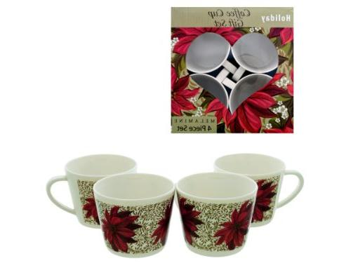 bulk buys poinsettia coffee cup
