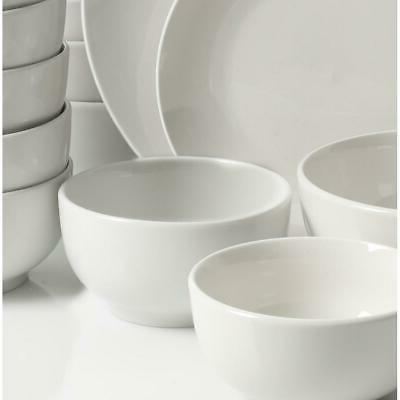 Dinnerware White Service for Round fine Tableware New