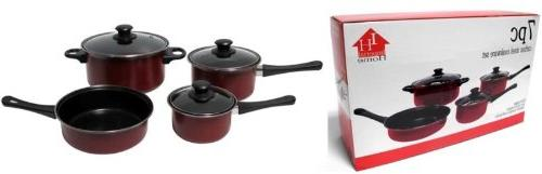 carbon steel cookware set non