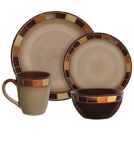 Gibson Estebana 16-piece Dinnerware Set 4,