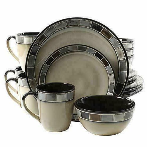 casa gris reactive glaze dinnerware