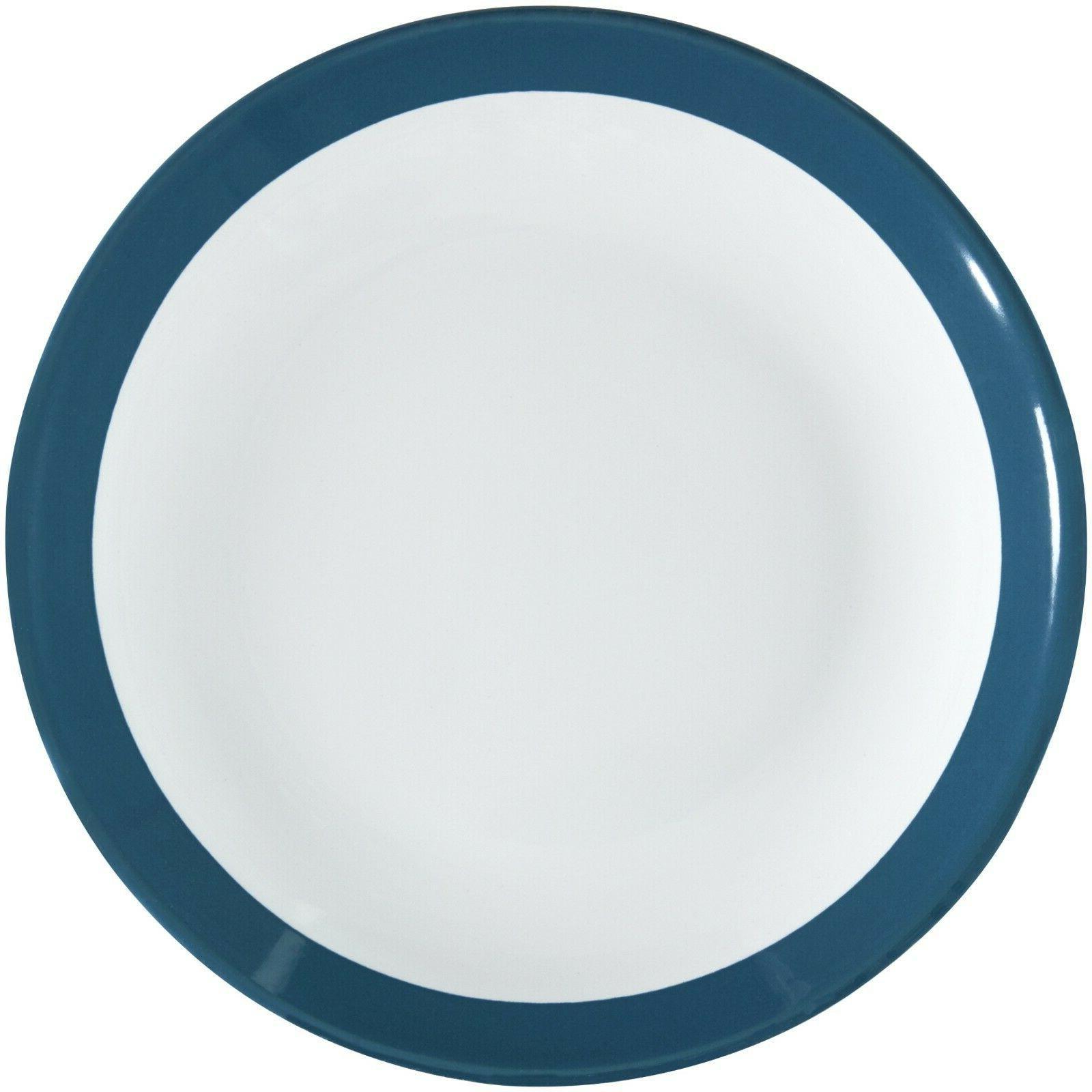 Ceramic Aqua Stoneware Dinnerware Count Bowls