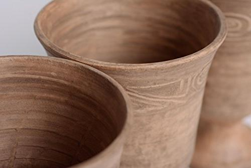 ceramic goblets kilned