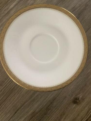Noritake Charlotta Gold Dinnerware Value Set for 12