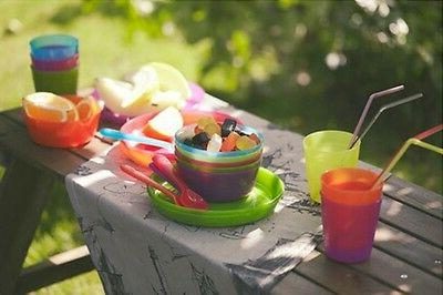 IKEA Childrens Eating Ware Colorful BPA Dining Utensils