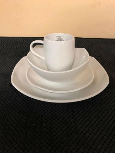 classic fjord porcelain 16 place setting dinnerware
