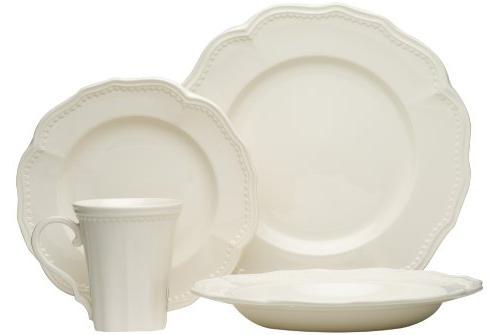 classic white dining set