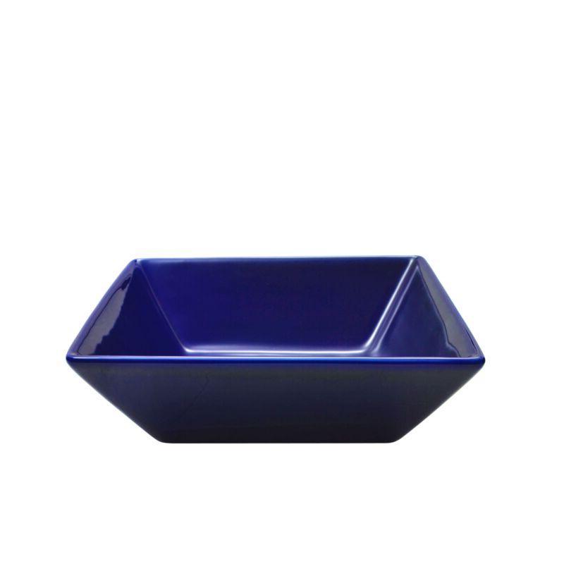 Cobalt Dining Square Dishes Mug Bowl Piece
